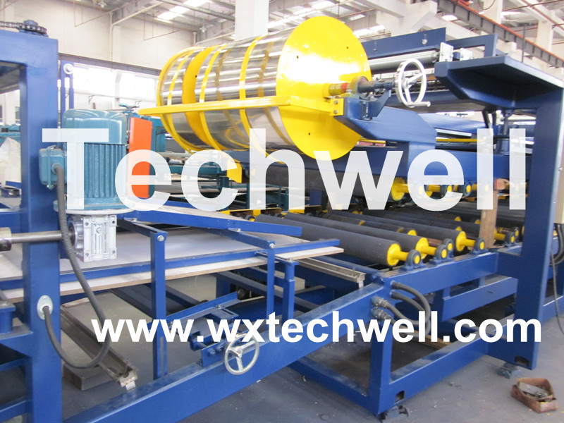 Eps Sandwich Panel Machine : Cold roll forming machine former