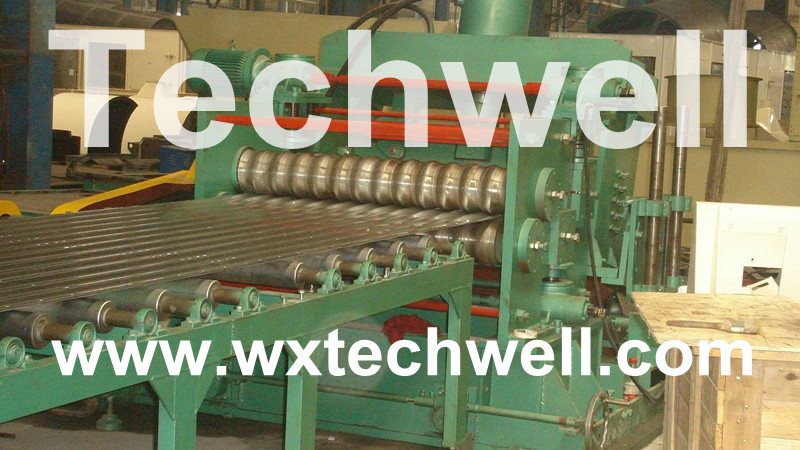 Steel Silo Corrugated Panel Roll Forming Machine
