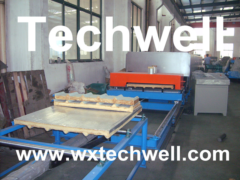 Economical Type PU Sandwich Panel Machine Line