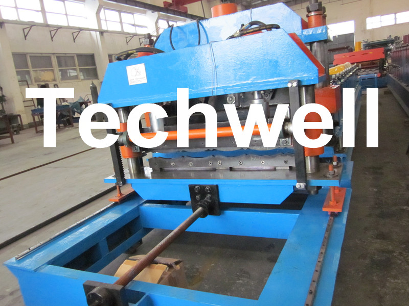 Wave Tile Roll Forming Machine