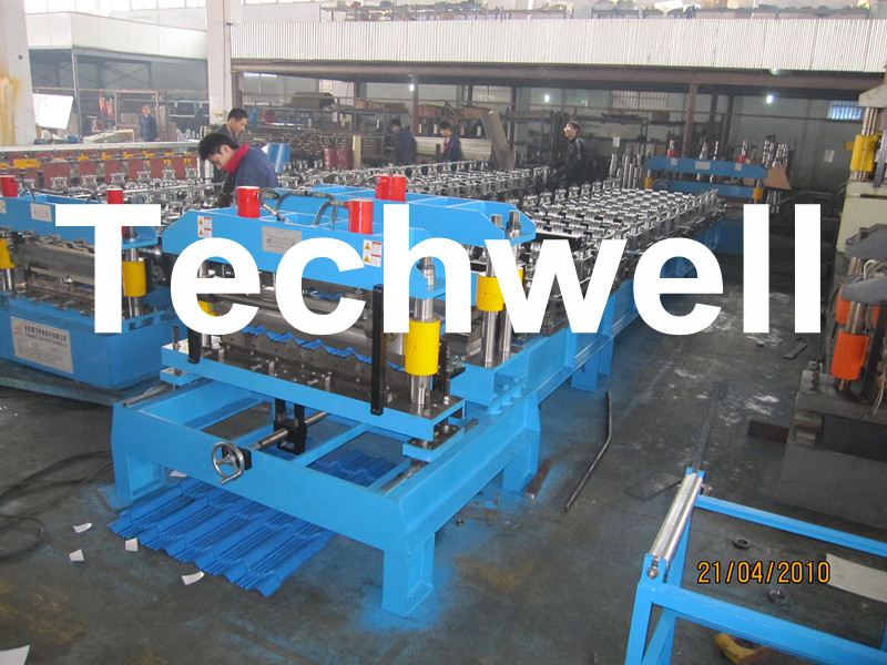 Steel Wave Tile Roll Forming Machine