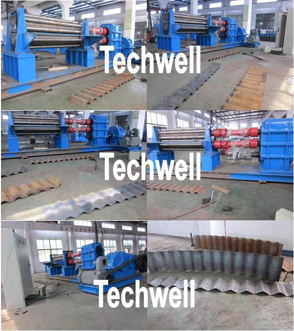 corrugation rolling machine, corrugation machine