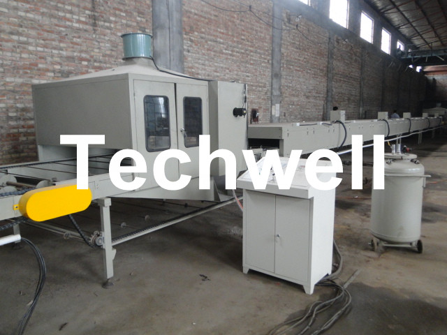 Color Stone Coated Metal Roof Tile Making Machine