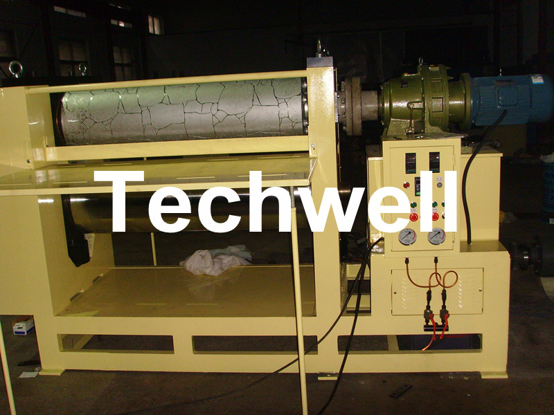 1220/1250/1300mm Plywood/Wood/HDF/MDF Embossing Machine For Stone Pattern To Russia