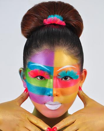 创意新娘彩妆造型内容创意新娘彩妆造型图片