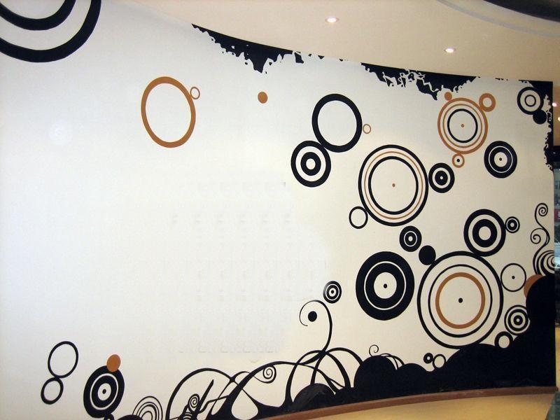 墙绘图案素材 创意墙绘图案素材